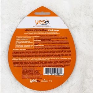 Yes To Makeup - Yes To Facial Mask Carrots Lot of 6, 100%Vegan